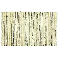 Sturbridge Country Rag Rug in Stone 48 x 72