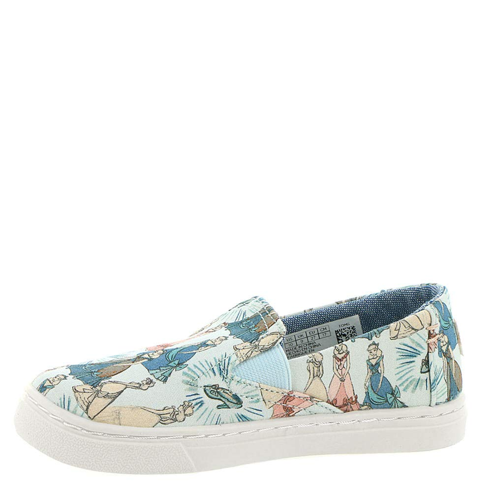 TOMS Girl's, Luca Slip on Shoes Disney Cinderella 5 M by TOMS Kids (Image #4)