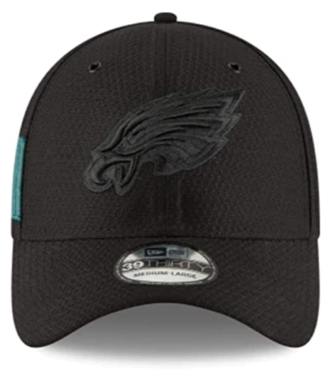 check out 35e4e 813fe Amazon.com  New Era Philadelphia Eagles Kids Youth JR. NFL Authentic Black  Stretch Fit   Child Youth  Sports   Outdoors