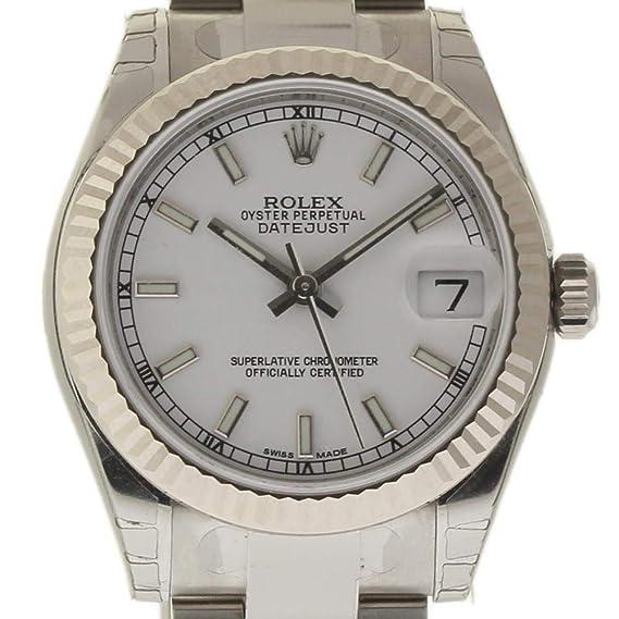 Rolex Datejust Reloj Suizo automático Femenino 178274 (Certificado prepropietario)