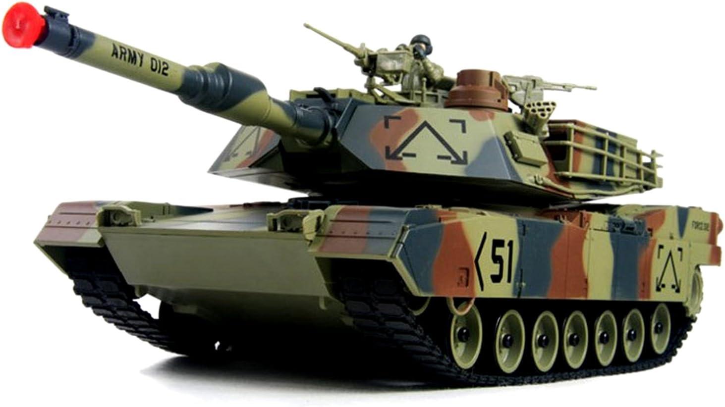 Amazing Tech Depot Abrams RC Battle Tank