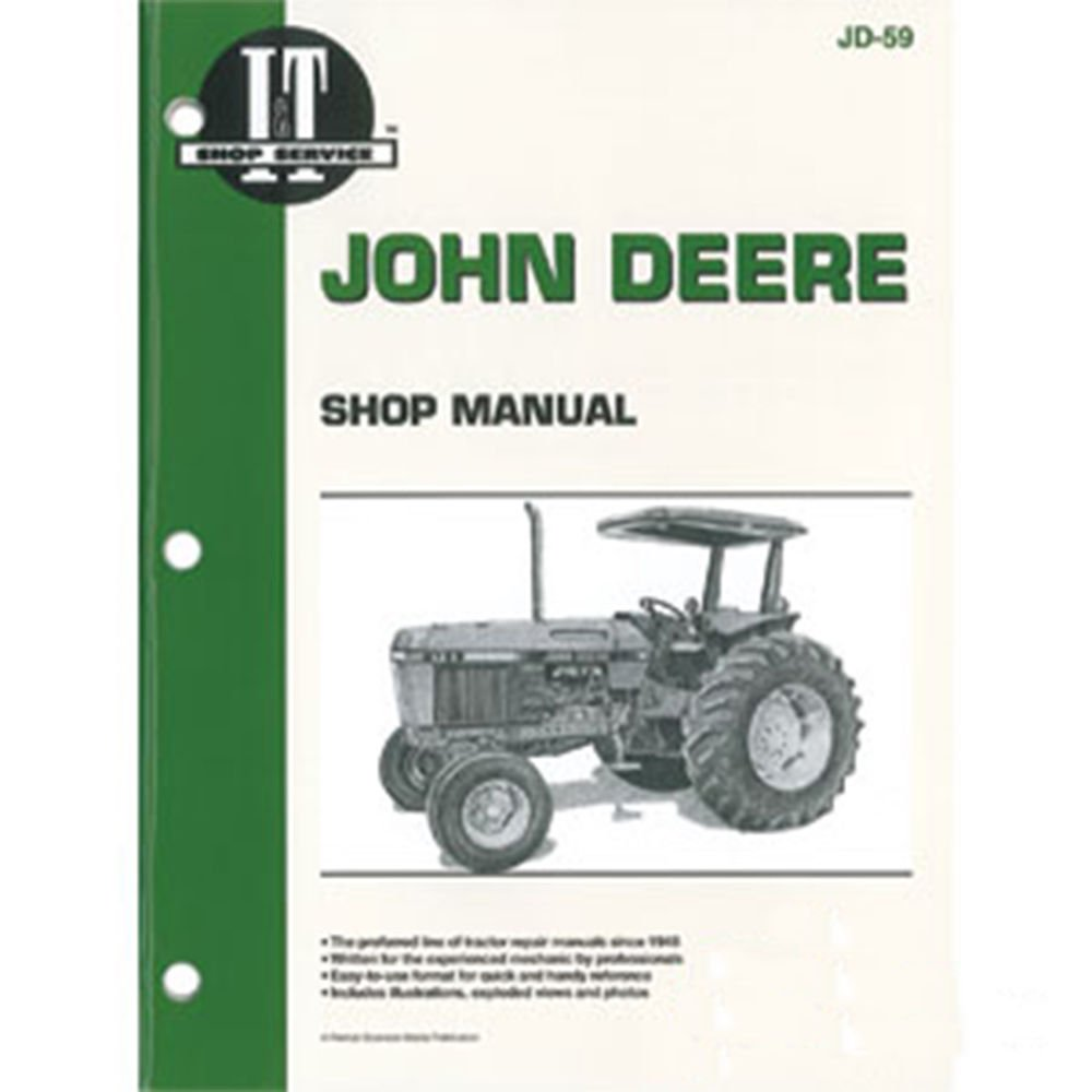 SMJD59 New Shop Manual Made for John Deere Tractors 2750 2755 2855 2955:  Amazon.com: Industrial & Scientific