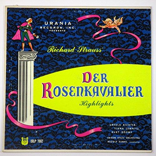 (Richard Strauss' Der Rosenkavalier (Highlights) / Saxon State Orchestra, Rudolf Kempe)