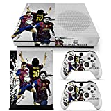 GoldenDeal Xbox One S Console and Wireless Controller Skin Set – Soccer – XboxOne S XOS Sticker Vinyl Review