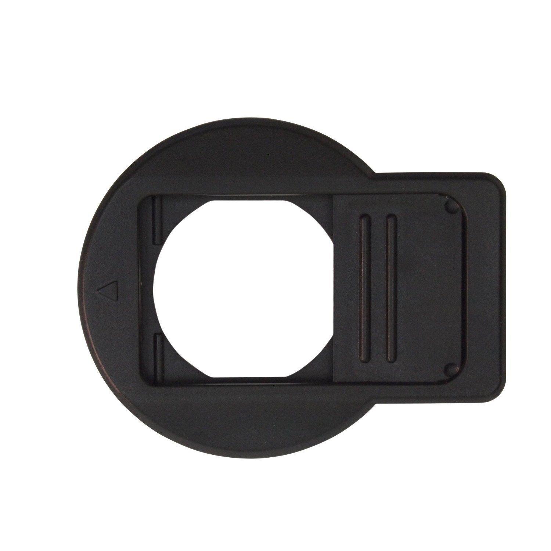JFOTO TG-C Lens Cap Design for OLYMPUS Tough TG1/TG2/TG3/TG4/TG5, Camera Black Front Lens Cover better protection lens by JFOTO