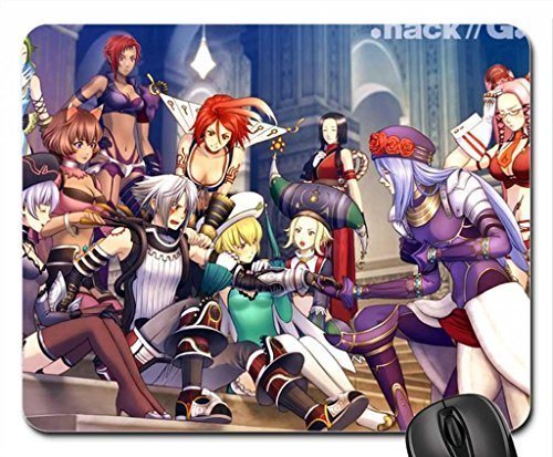 Hack//G.U. friends Mouse Pad, Mousepad (10.2 x 8.3 x 0.12 inches)