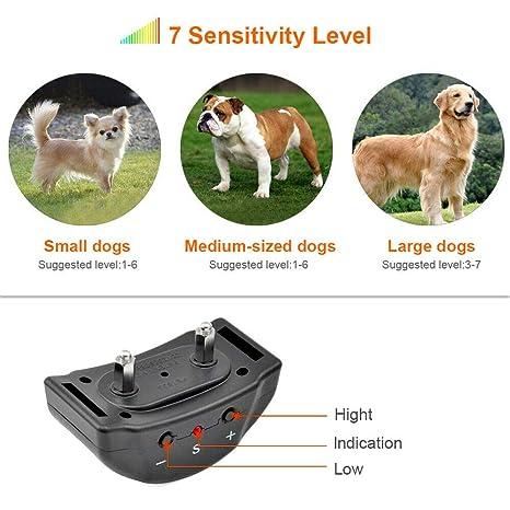 Maso collar de entrenamiento para perros anti ladridos, para ...