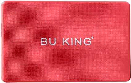 TISHITA BUKING Red 80G 2.5インチUSB 3.0ハードドライブディスクHDDに適用ラップトップPCノートブック