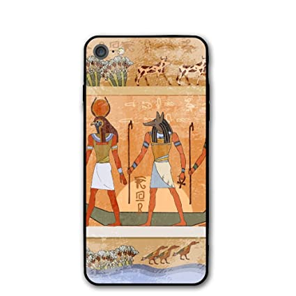 Amazon.com: Antiguo Egipto escena iPhone 7 Funda, iPhone 8 ...