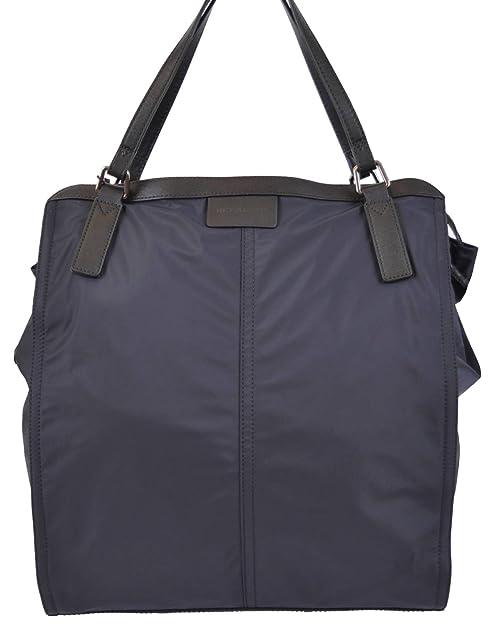 a7e03fe888d8 Burberry Women s Navy Blue Nylon Nova Check Packable Tote Purse  Amazon.ca   Shoes   Handbags