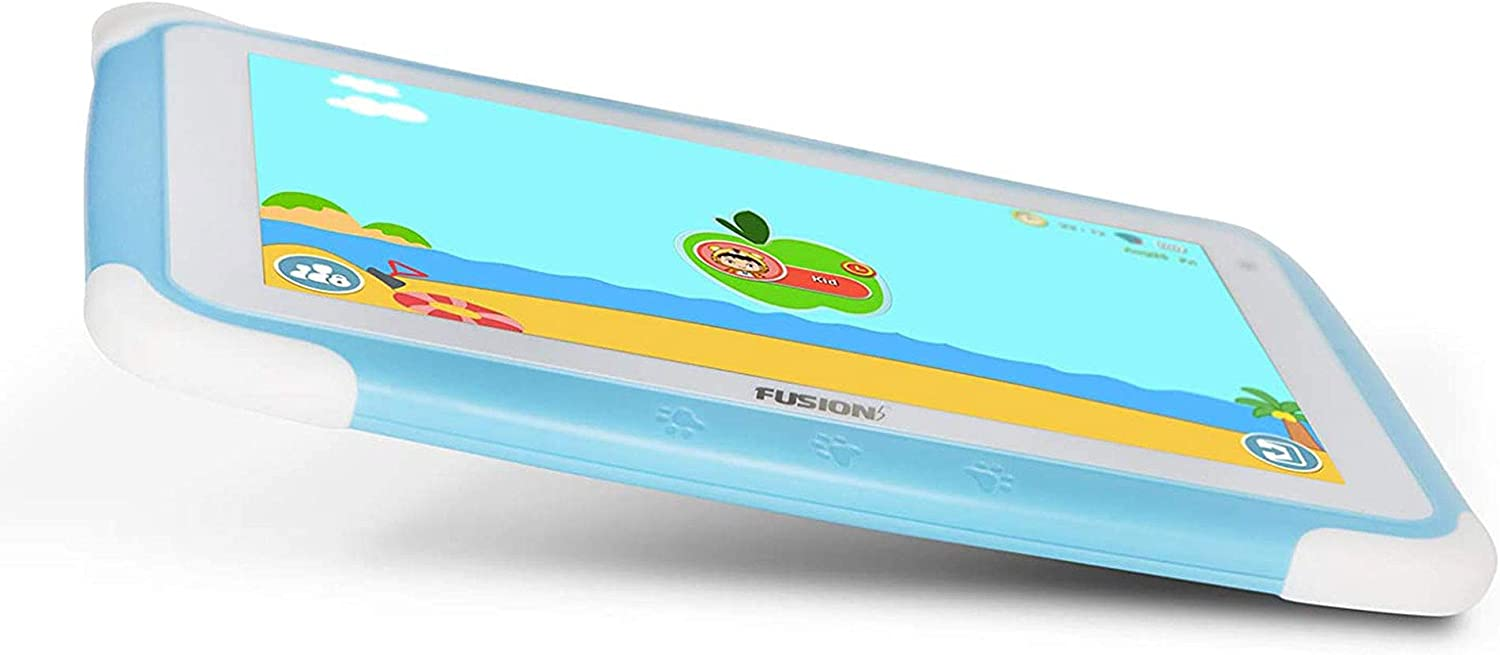 Learn fun Blue study Designed for Kids Fusion5 Kids Tablet PC and Kids Camera Combo Deal parental controls