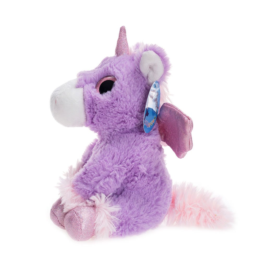 WILDREAM Dreamy Eyes Heavenly Purple Unicorn 7\