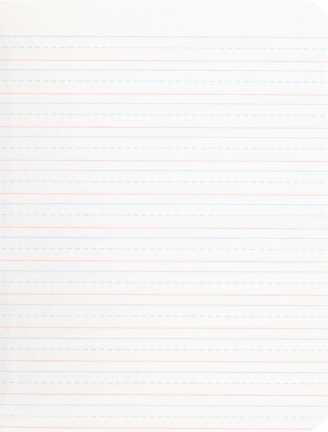 Mead Primary Composition Book, Ruled, 100 Sheets/200 Pages (09902), 6 Notebooks