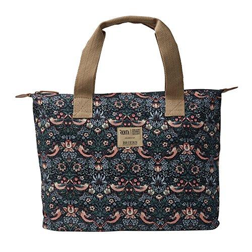 Briers Ltd Strawberry Thief Cotton Borsa a Spalla, Multi-Colour, 5.69 x 32.27 x 23.75 cm