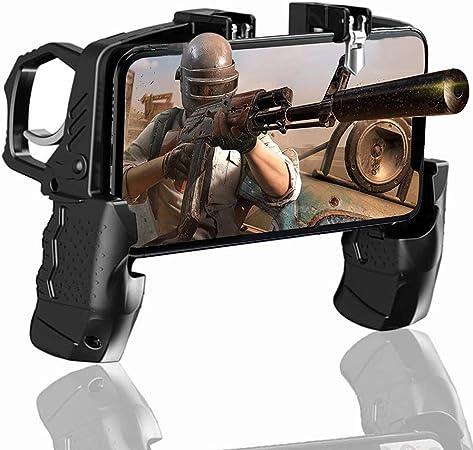 Controlador M/óvil para Android y iOS de 4.7 a 6.5 Pulgadas BESTZY PUBG Mobile Game Controller Mando Joystick Movil Gamepad Gatillos para Movil PUBG