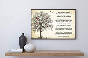 kalistamao Wall Art-in My Life Lyrics Poster Print for Home、Office and Cafe 12x10in with Frame