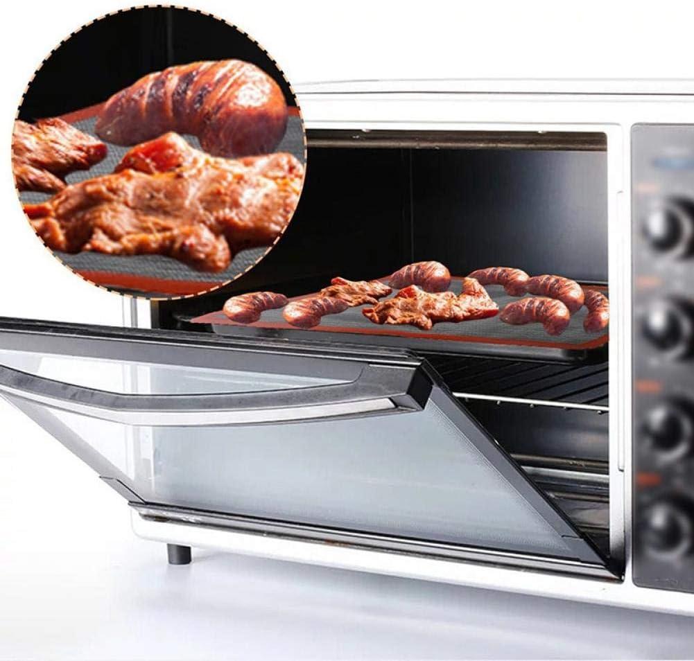 Silikon-backen-Matte Pad Non-Stick Ofen Blatt Liner Perforierte Macaron Backen Bakeware Pl/ätzchen Biscuit Backblech Mat 30 40cm