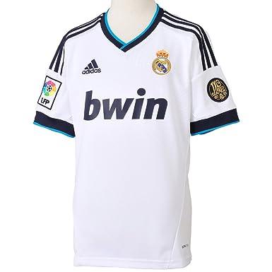 Adidas Real Madrid C.F. - Camiseta de fútbol infantil, 2012-13, 14 años