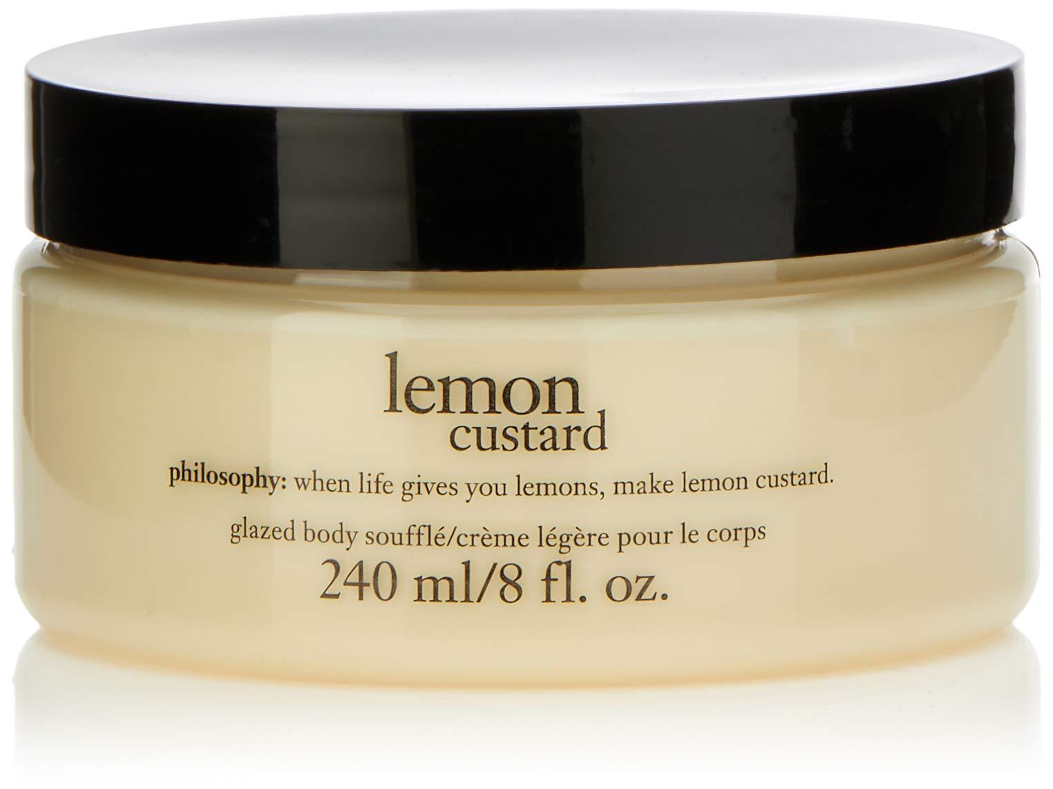 Philosophy Lemon Custard Glazed Body Souffle By Philosophy for Unisex - 8 Oz Body Souffle, 8 Oz