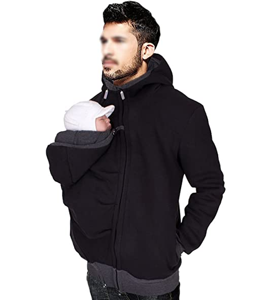 f110b0941 Astage Men Newborn Kangaroo Jacket Daddy Pullover Outdoor Baby ...