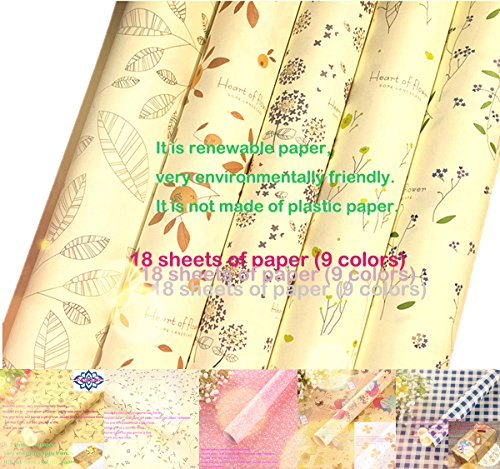 Gift Wrap Paper Christmas Birthday Easter Hanukkah Wedding Anniversary Graduation Father's Mother's Day New Year Kids Handmade Gold Holiday Kraft Roll