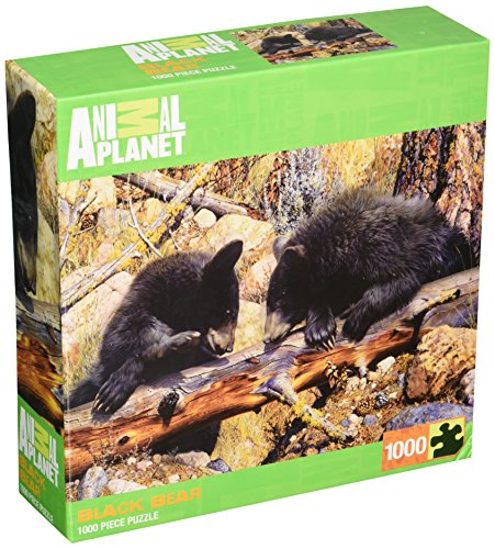 MasterPieces Animal Planet Black Bear Jigsaw Puzzle, 1000-Piece