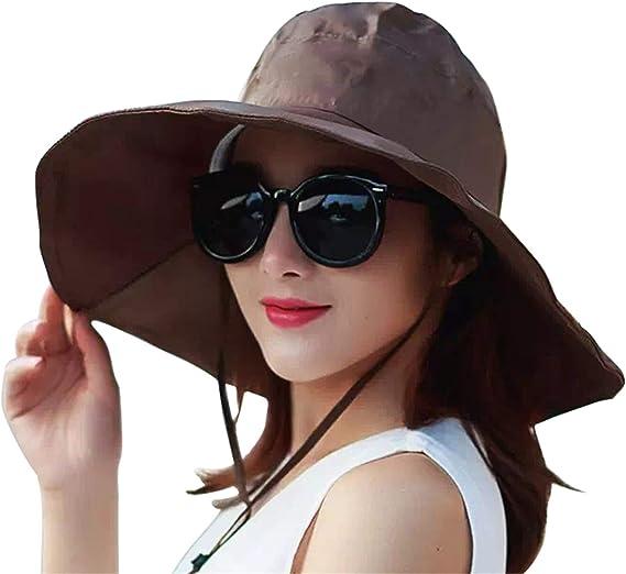 Outdoor UV Protection Rain Cap Waterproof Rain Hat Wide Brim Bucket Hat  (Brown): Amazon.ca: Sports & Outdoors