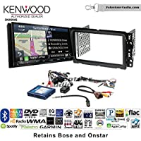 Kenwood Excelon DNX994S Double Din Radio Install Kit with GPS Navigation Apple CarPlay Android Auto Fits 2013-2014 Buick Enclave, 2013-2014 Chevrolet Traverse (Steering wheel controls)