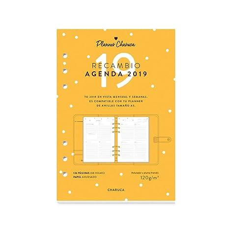 Amazon.com: Recambio para agenda 2019 A5: Office Products