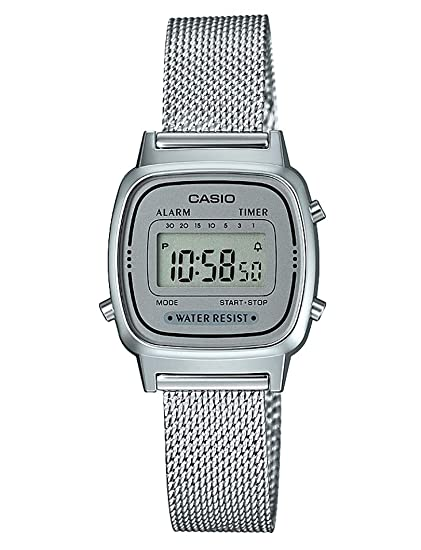 230fb8b12db4d4 Casio LA670WEM-7EF Orologio Digitale, Donna: Amazon.it: Orologi