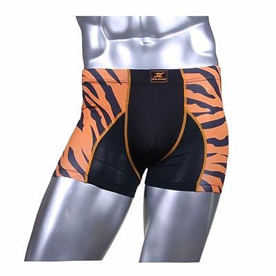 Compression Boxer Briefs Shorts for Men Undershorts Base Layer Mesh Underwear DZ