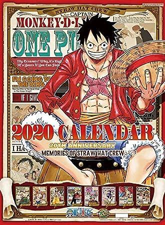 Ensky One Piece Calendar 2020 Try-X Wall Calendar Calendario de ...