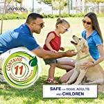 Arava Flea & Tick Prevention Collar - for Dogs & Puppies - Length-25'' - 11 Natural Active Ingredients - Safe for Babies & Pets - Safely Repels Pests - Enhanced Control & Defense - 6 Months Protection 16
