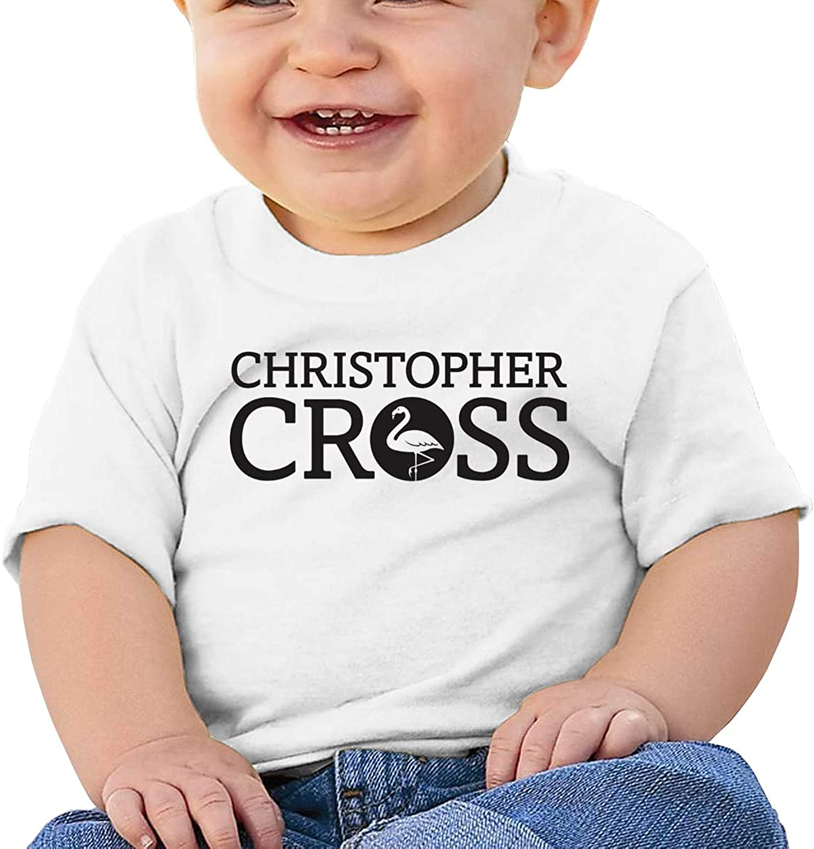 Baby Christopher Cross Logo Shirts Toddler Cotton Tee