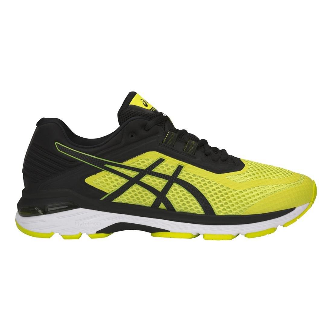 ASICS GT-2000 6 Men's Running Shoe, Sulphur Spring/Black/White, 6.5 M US