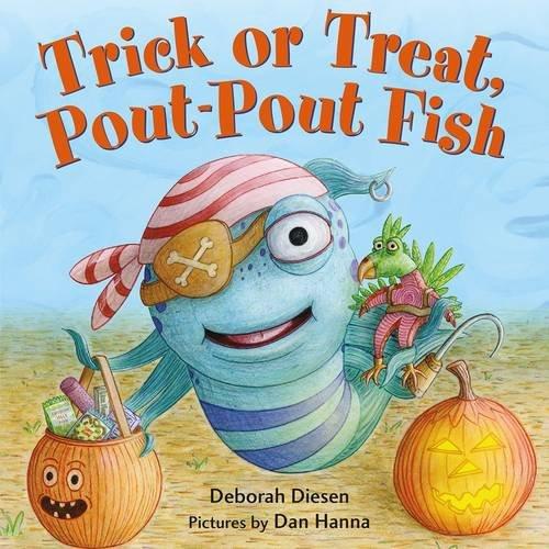 Trick or Treat, Pout-Pout Fish (A Pout-Pout Fish Mini (Halloween Story For Kids Read Aloud)