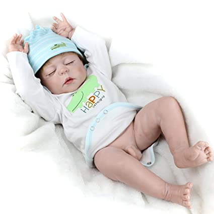 Amazon Com Reborn Full Silicone Baby Boy Dolls Realistic Look Real