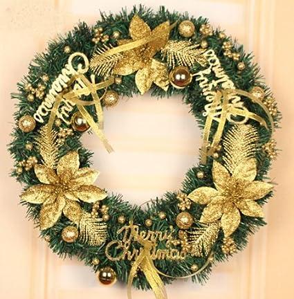 Christmas wreath Christmas decorations christmas ornaments Christmas tree  Decorations Xmas hotel shop window Ornaments (40cm - Amazon.com: Christmas Wreath Christmas Decorations Christmas