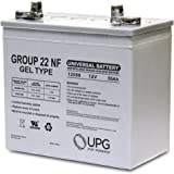 12V 55AH (Group 22NF) GEL Battery for Invacare Pronto M94, M91 Wheelchair