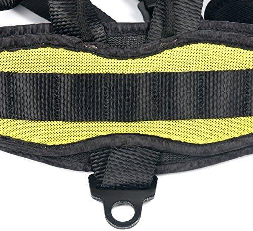 YaeCCC - Arnés de Escalada Seguro para cinturón de Seguridad para ...