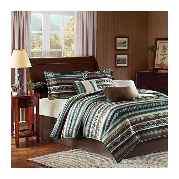Malone 7 Piece Comforter Set -  - comforter-sets, bedroom-sheets-comforters, bedroom - 61W8jlzDgqL. SS570  -