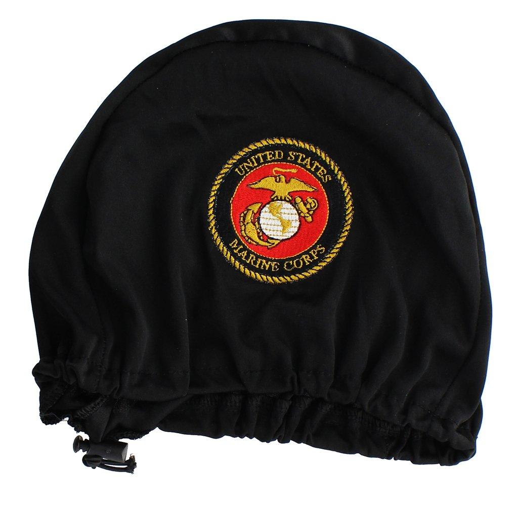 米国海兵隊刺繍ヘッドレストカバー、2のセット B079VRMX7W