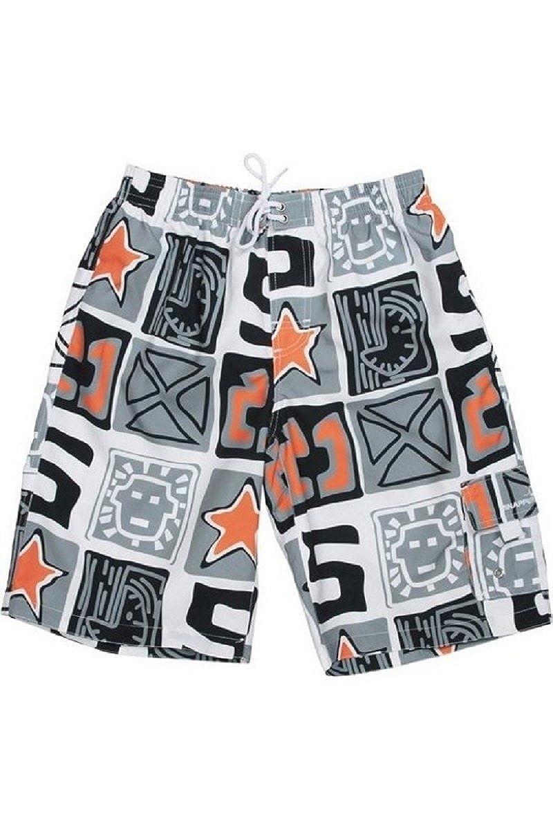 Snapper Rock Board Shorts Kiwi Orange