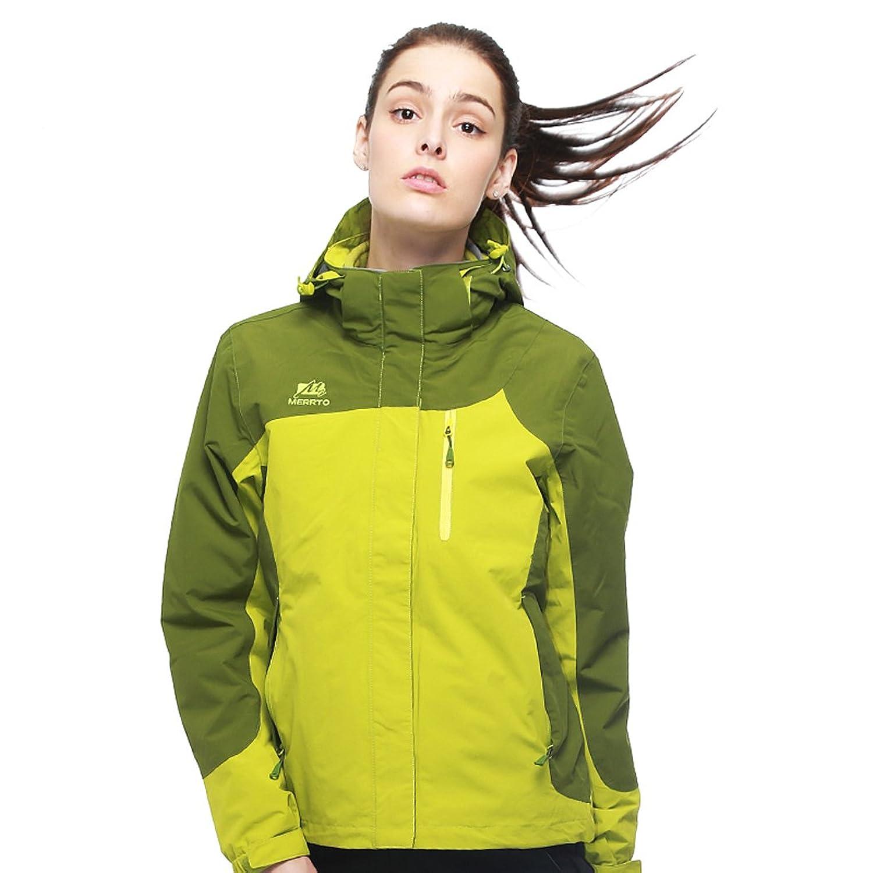 MERRTO Women's Waterproof Hiking Jackets Windproof Fleece Thermal Ski Jackets