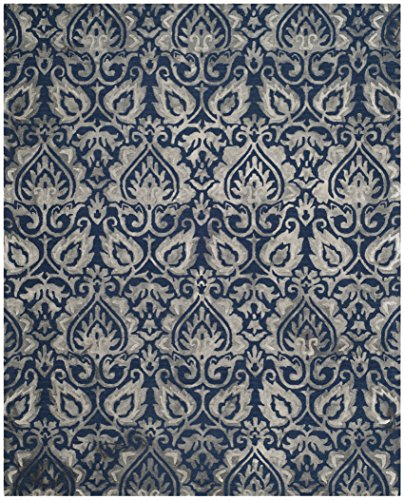 Safavieh DDY511N-8 Dip Dye Collection Area Rug, 8' x 10', Navy/Grey