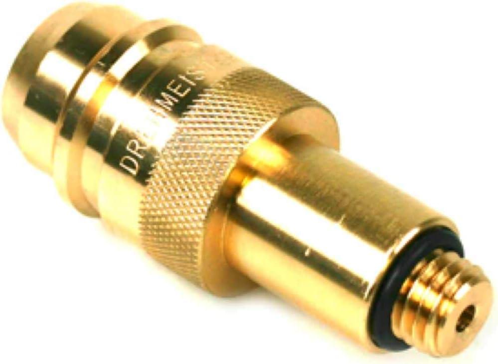 Drehmeister Adaptador para GLP M14 - Euronozzle (Adaptador de Autogas de España) Adaptador de Tanque para Gas