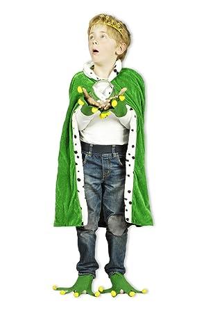 Das Kostumland Kostum Froschkonig Fur Erwachsene Und Kinder Umhang