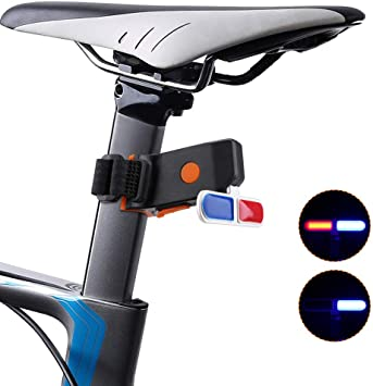 Luces traseras para bicicletas, luces de bicicleta de alto brillo ...
