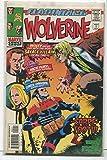 #2: Wolverine Flashback #1 NM Nick Fury Carol Drivers Sabre-Tooth Marvel CBX1Y