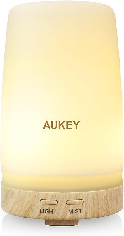 Aukey Difusor de Aroma 100Ml Led de la Luz Fría y Suave ...